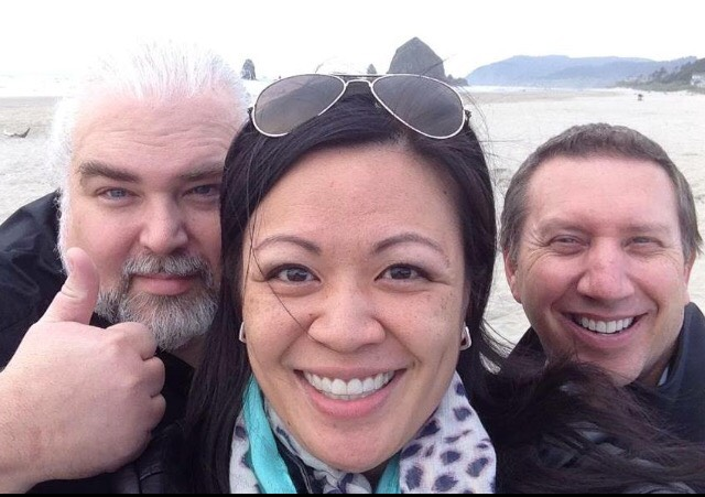 Keith, Char and Todd